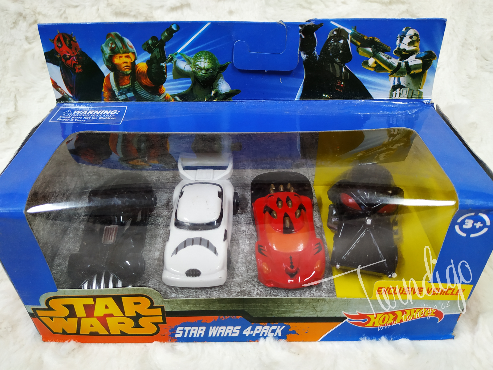 SADA AUTA HOTWHEEL STAR WARS 4 KS