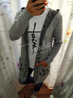 Cardigan VOGUE kr. - šedý